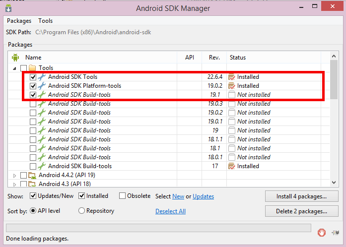 install-sdkmnager