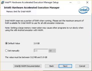 افزایش سرعت شبیه ساز اندروید-install-haxm-win-image-04-install-screen-memory
