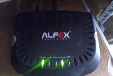 آموزش کانفیگ مودم آلفکس Alfex