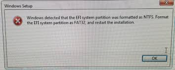 EFI system partition