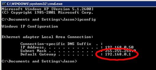 IP آدرس - cmd3